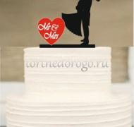 Прикольные торты на свадьбу # 25