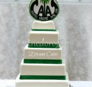 Корпоративный торт # 17
