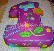 Торт детский цифра #41