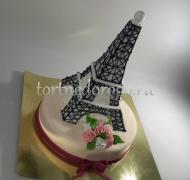 Необычные торты # Эйфелева башня