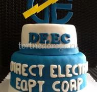 Корпоративный торт # 21