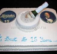 Корпоративный торт # 29