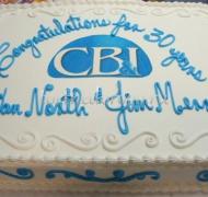 Корпоративный торт # 25