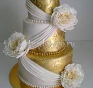 Торт свадебный 3 яруса # Богатство