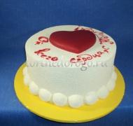 Торт без мастики # Торт с белым велюром