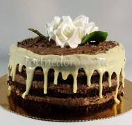 Торт без мастики # Коллаж