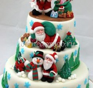Торт на новый год #26