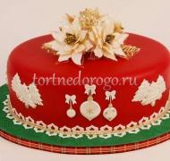 Торт на новый год #31