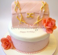 Торт для жены # Сумочка с цепочкой