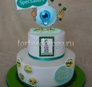Корпоративный торт # 28