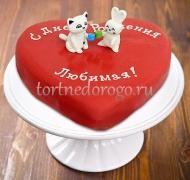 Прикольные торты на день рождения # Любимой