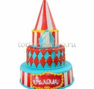 Детский торт # Цирк