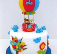 Детский торт # На воздушном шаре