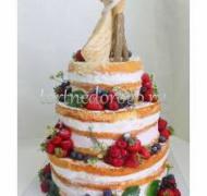 Торт свадебный 3 яруса # Романтика