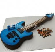 Прикольные торты на день рождения # Гитара