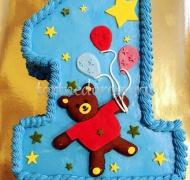 Торт детский цифра #27