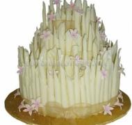 Необычные торты # Цветник