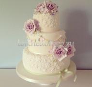 Заказать торт свадебный - Сюрприз