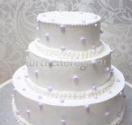 Торт свадебный 3 яруса # Фантазия