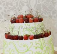 Заказать торт свадебный - Романтика