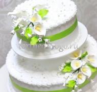 Торт свадебный 3 яруса # Признание в любви