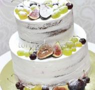 Торт свадебный  ярус # Счастье