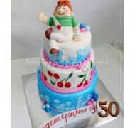 Прикольные торты на день рождения # Лучшему мужчине