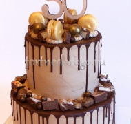 Торт без мастики # Ореховое чудо