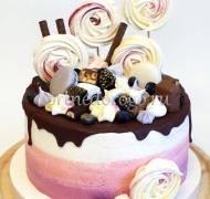 Торт без мастики # Морганит