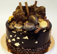 Торт без мастики # Шоколад-шоколадович
