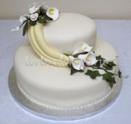 Заказать торт свадебный - Искренность