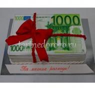 Прикольные торты на день рождения # Евро