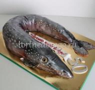 Прикольные торты на день рождения # Щука
