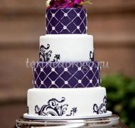 Торт свадебный 4 яруса # Франческо