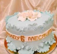 Детский торт # 6 месяцев