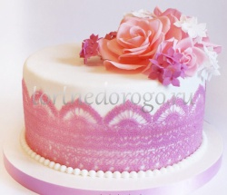 Торт для жены # Розочки